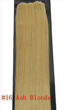 "Fast US Stock Remy Weft 20"" 22"" 100G Without Clip 100% Human Hair Extensions 30G"