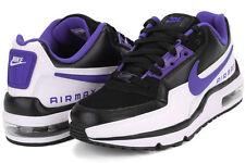 New** Nike Air Max LTD 3 PREMIUM Men's Size 10.5 Black Violet White 695484-051