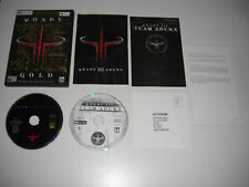QUAKE III 3 GOLD inc ARENA & TEAM ARENA Pc Cd Rom / Apple MAC - FAST POST