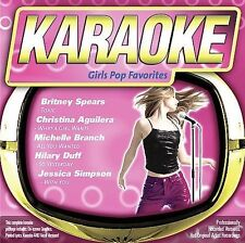 FREE US SH (int'l sh=$0-$3) NEW CD Karaoke: Girls Pop Favorites Karaoke