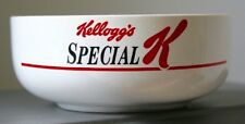 VERY RARE 1987 KELLOGGS SPECIAL K CEREAL BOWL