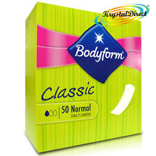 Bodyform Classic 50 Normal Daily Panty Liners Sanitary Pads