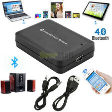 Bluetooth Music Receiver V4.0 Wireless HiFi 3.5mm Stereo Audio Dongle Adapter