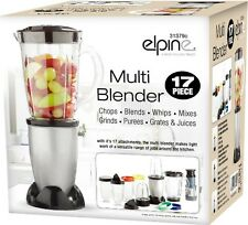 MULTI BLENDER 17PC JUICER SMOOTHIE MAKER LIQUIDISER MIXER CHOPPER FOOD PROCESSOR