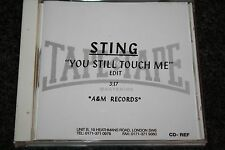 The Police - Sting / UK CD Reference PromoTape to Tape Mastering You Still Touch