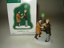 Dept 56 CIC Accessory  - I'm A Daddy, Have A Cigar - NIB