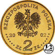 POLAND FULL SET OF 7 COINS 2 ZLOTY 2002 NORDIC GOLD UNCIRCULATED COINS