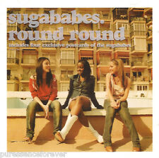SUGABABES - Round Round (UK 4 Tk CD Single Pt 2/Postcards)