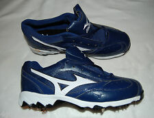 MENS SHOES Mizuno 9 SPIKE METAL CLEAT Royal Blue Lace Up 13