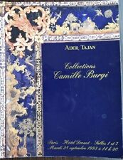 Catalogue de vente  Tajan Collections Camille Burgi Mobilier Louis XVI Empire