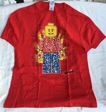 Legoland Florida Red Lego Mini Figure T Shirt X-Large, XL Unisex