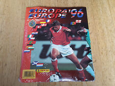 Panini EM 1996 Euro 96,complete set sticker + album,factory sealed,sigillato, NL