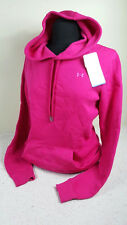 NWT WOMEN UNDER ARMOUR COLDGEAR PINK QUILTED HOMETOWN HOODIE SWEATSHIRT SZ MD M