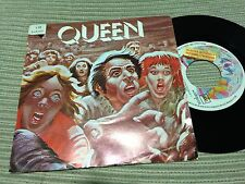 "QUEEN MERCURY SPANISH 7"" SINGLE SPAIN PROMO EMI 78 SPREAD YOUR WINGS"