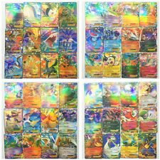 New Pokemon TCG 60 Card All EX 47pcs Basic & 13pcs MEGA Charizard Venusaur Gift