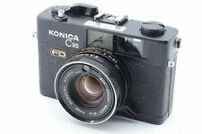 *Very Rare Black Ex+* Konica C35 FD 35mm Film Camera w/Hexanon 38mm F/1.8 5728