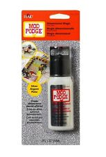 MOD PODGE SILVER GLITTER DIMENSIONAL MAGIC 2oz GLOSSY GLUE DECOUPAGE CRAFT BEADS
