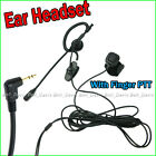 E14MT Ear Headset with Finger PTT for T5620 T6200 T5522