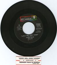 CONNIE EATON * LONELY MEN LONELY WOMEN & MIDNIGHT TRAIN TO GEORGIA  * 45 RPM