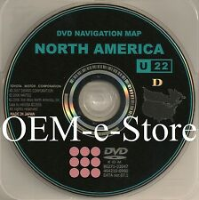 7.1 Update Only 2005 Toyota 4Runner Sienna / XLE Limited Navigation OEM DVD Map