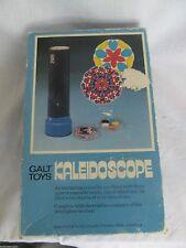 Galt Toys Kaleidoscope Vtg 1970's with 1 Lense  & Box