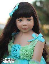 RARE Masterpiece Dolls Princess And The Pea Brunette GREEN Eyes 30th Anniversary