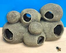 Rock cave cacher Pebble grand tunnel aquarium Ornament Fish Tank Décoration Nouveau