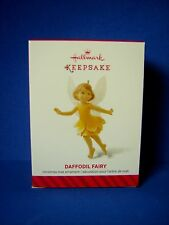 Hallmark Christmas Ornament Daffodil Fairy 2014 NEW Messengers Series