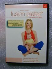 LIKE NEW Fusion Pilates with Baby DVD 796141100104 Jennifer Gianni Cheap Postage