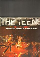 THE TEENS - teens & jeans & rock 'n' roll LP