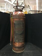 VINTAGE COPPER  FIRE EXTINGUISHER UNIVERSAL AMERICAN FIRE EQUIPMENT