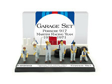 Garage Set Porsche 917 Martini Racing Team 1970/1971 1:43 Model BRUMM