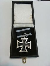 WWI WW1 German 1914 Iron cross Medal award w LDO presentation box case