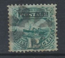 USA - 1869, 12c Green stamp - Used - SG 119a (Cat. £150)