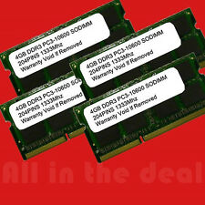 16GB (4x4GB) DDR3-1333 Apple iMac 3.06GHz Quad-Core PC3-10600 1333 mhz Memory