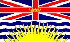 3'x5' BRITISH COLUMBIA FLAG CANADIAN PROVINCE CANADA ROYAL UNION PROVINCIAL 3X5