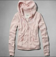 New Abercrombie&Fitch Women Marybeth Pink Hoodie Size M Reg $68