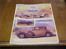 OLD CAR VALUE GUIDE ANNUAL VOL VI NO. 11, 1979 CURRENT VALUES OVER 400 MAKES