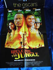 WELCOME to the JUNGLE -A1(59x84 Filmposter Filmplakat Poster Kinoplakat F2