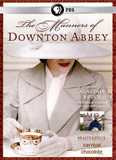 The Manners of Downton Abbey (DVD, 2015) Ships 1st class