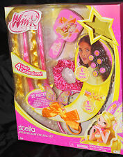 Winx Club Stella Believix Hair Styling Set Dress Up 20 pieces NEW