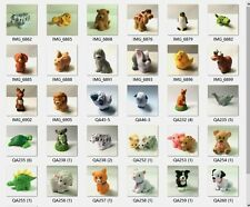 Random 10pcs Fisher-Price Little People Zoo Farm Animal figure Doll - no sound