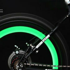 2 X Green Bike Bicycle Cycling Wheel Spoke Wire Tyre Bright LED Flash Light*