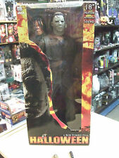 "Rob Zombie Michael Myers HALLOWEEN 18"" Motion Activated Sound Figure by Neca"