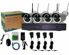 Wireless WIFI Security Camera System Video Surveillance 4CH Network NVR kit cctv