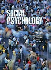 Social Psychology 12th Edition Taylor Peplau Sears textbook book hardcover NEW