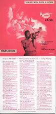 CD Miles Davis - Bud Powel - Thelonious Monk Young Man With a Horn Vol. 1 Vol. 2