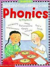 Quick-and-Easy Learning Games: Phonics (Grades 1-3) Scholastic Books, Blevins,