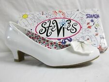 Stevies By Steve Madden Size 4 M Lovely White Pumps New Girls Shoes