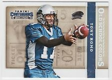 TONY ROMO 2015 Contenders Draft Picks Old School Colors #48 Panthers